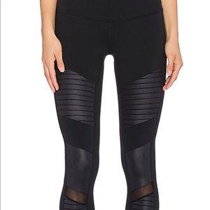 Alo yoga black moto legging